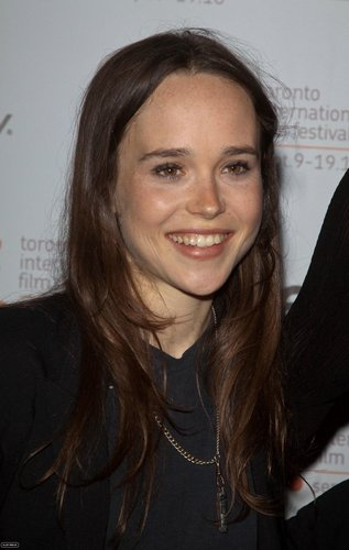 Ellen Page wallpaper with a portrait entitled Toronto Film Festival Premiere