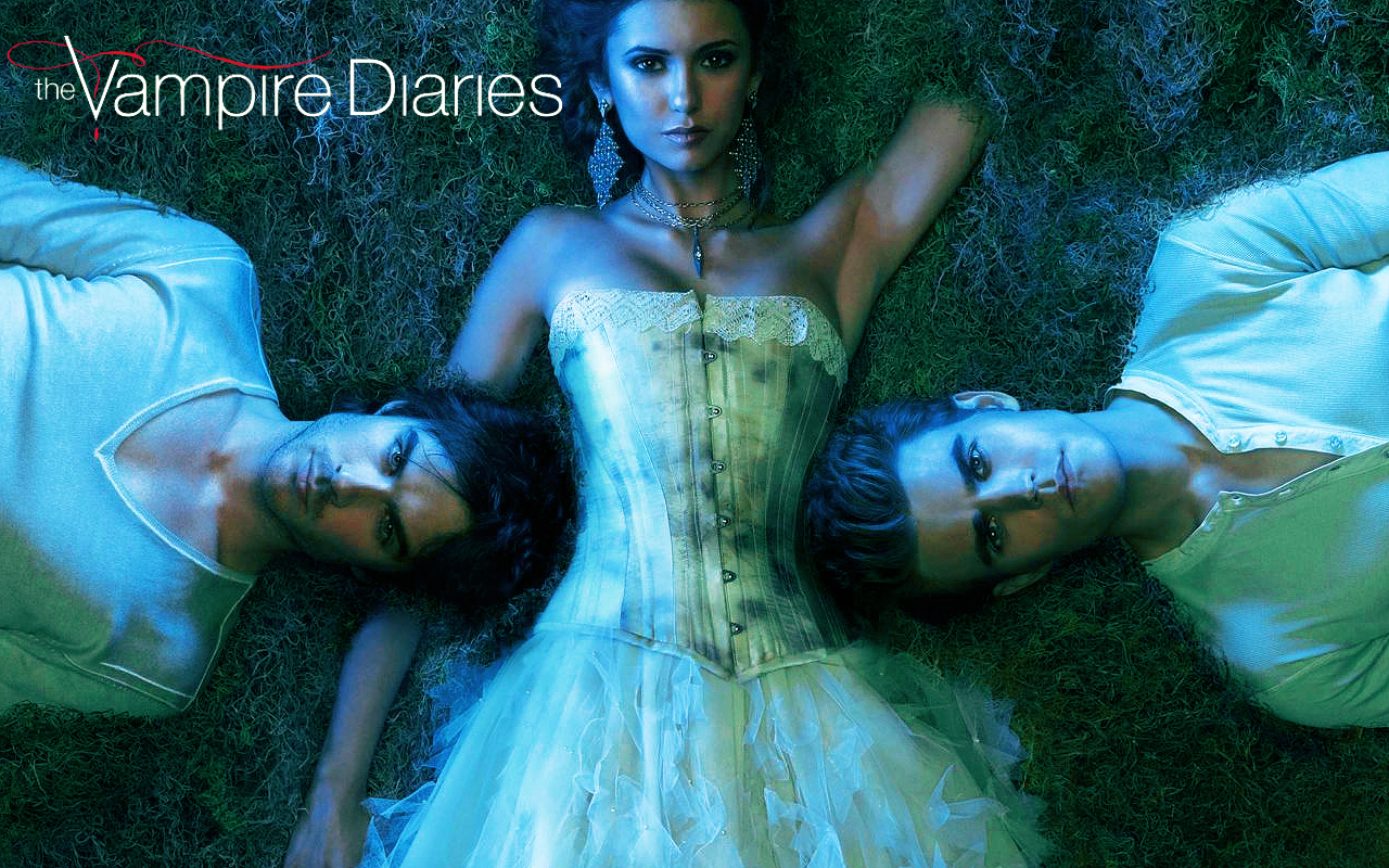 Wallpaper The Vampire Diaries: Favorite Tv, Tv Movies Music Books, Diaries Movies