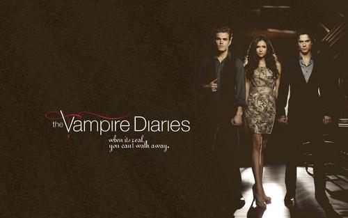 Vampire Diaries karatasi la kupamba ukuta