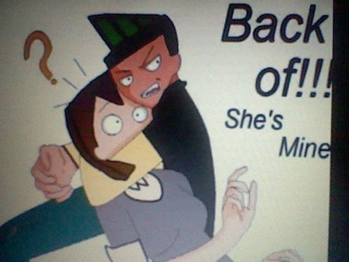 back off she is mine !!!