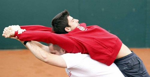 novak djokovic wallpaper containing a right fielder, a ballplayer, and a first baseman titled djokovic extension