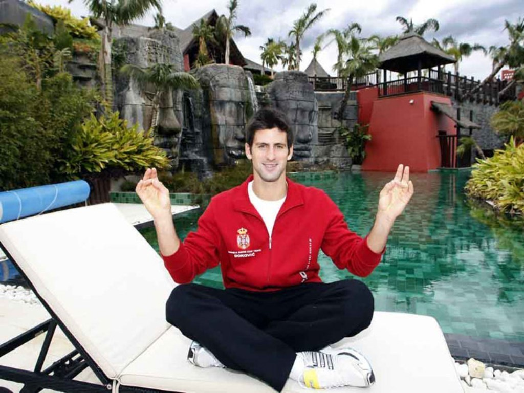 djokovic meditation