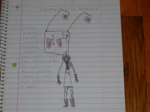 Invader Zim FanCharacters wallpaper called expirement k-12: belatrix