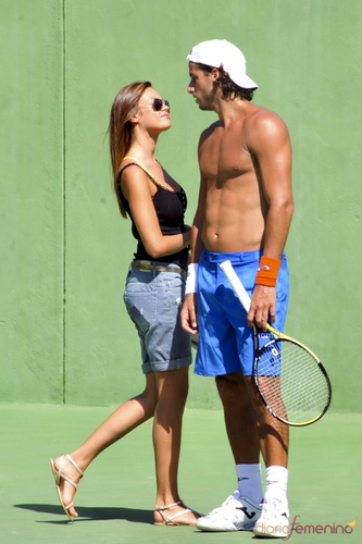 Feliciano Lopez wallpaper containing a tennis racket, a tennis pro, and a tennis player titled feliciano lopez girlfriend