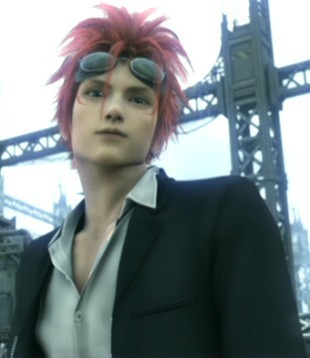 Final Fantasy VII پیپر وال with a business suit called ff7
