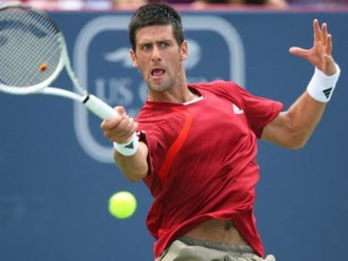 Novak Djokovic wallpaper containing a tennis racket, a tennis player, and a tennis pro titled rogers cup