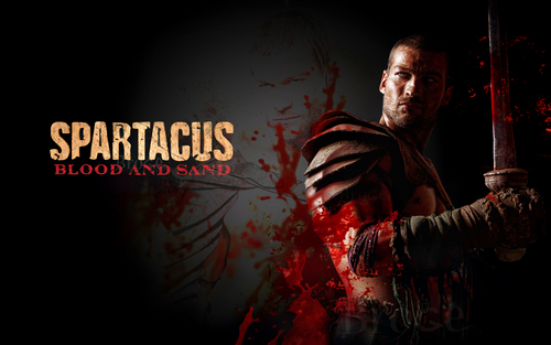 Spartacus: Blood & Sand wallpaper titled spartacus