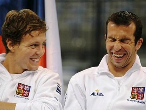 stepanek and berdych !!!