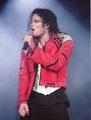the red jacket - michael-jackson photo