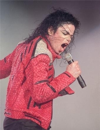 the red jaket