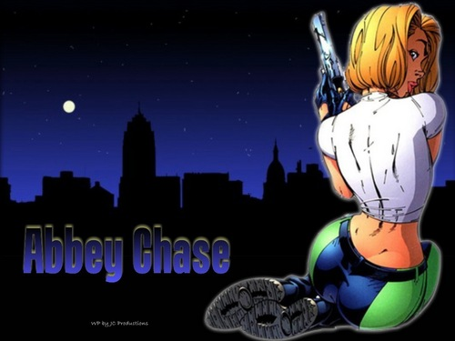 Comic buku wallpaper possibly containing anime entitled Abbey Chase from the Danger Girl comics