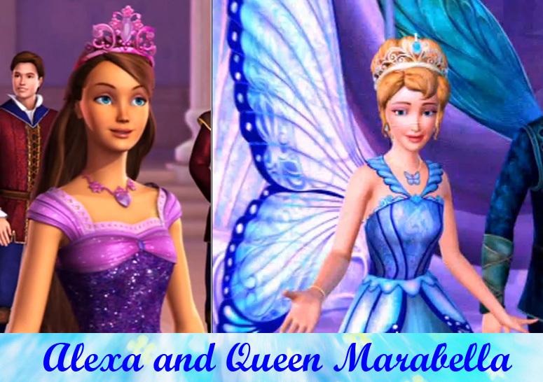 Alexa and Queen Marabella