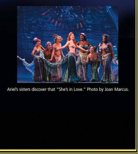 Ariel and her sisters on broadway