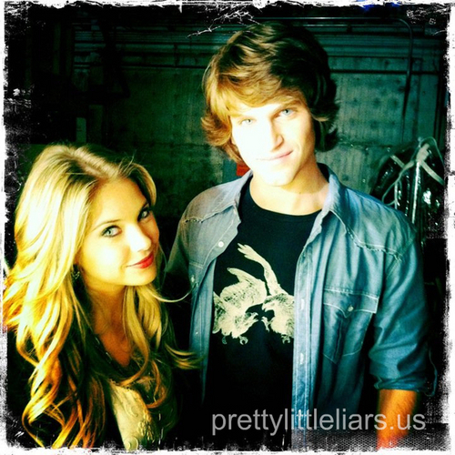 Ashley Benson & Keegan Allen
