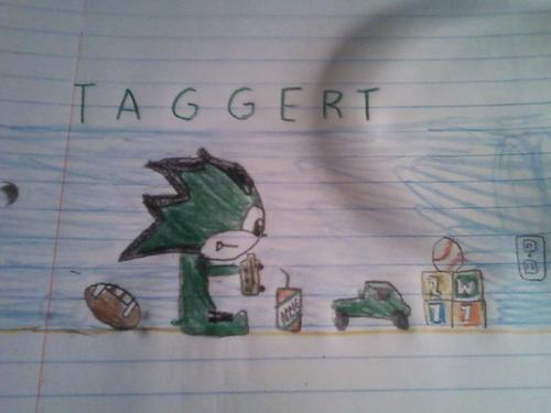 Baby Taggert Playing With His Toys