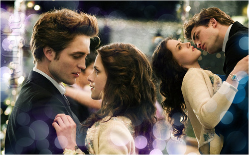 Bella & Edward - twilighters Wallpaper