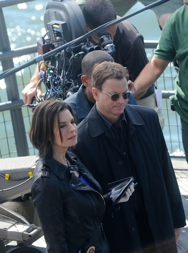 CSI NY - BTS September 20th and 21st