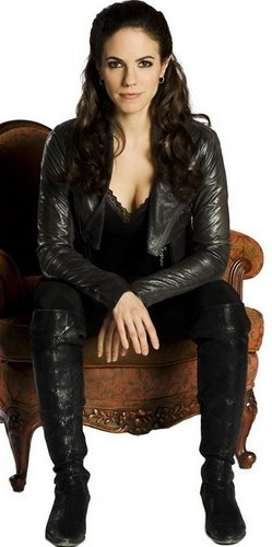 Lost Girl wallpaper possibly containing bare legs, a well dressed person, and a hip boot entitled Cast
