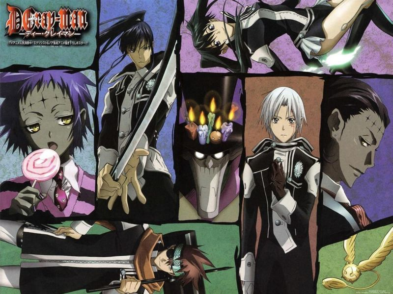 d gray man wallpapers. D.Gray-Man Wallpaper