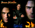 the-vampire-diaries - Damon Salvatore wallpaper