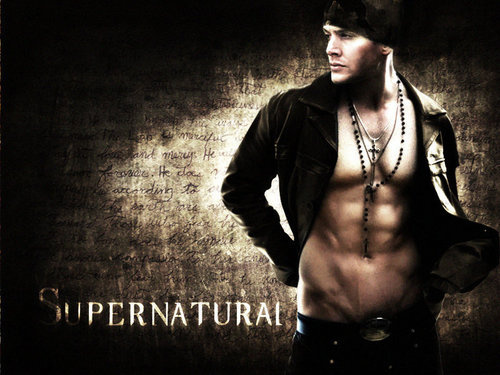 Winchester Girls wallpaper probably containing a concert and a sign entitled Dean Winchester<3