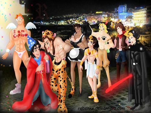 Disney men Halloween