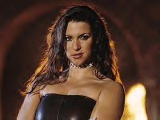 Звезды WWE Обои probably with attractiveness, a bustier, and skin titled Dominiant Stephanie