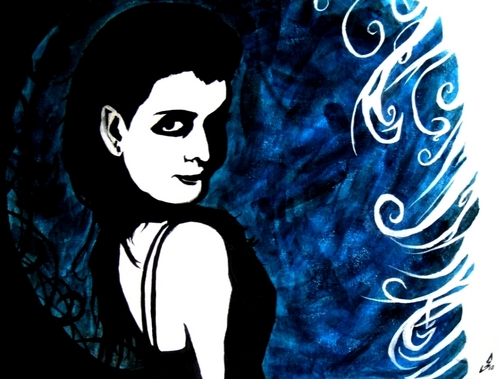 Evanescence Amy Lee Hartzler Painting