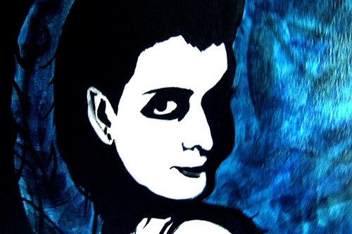 エヴァネッセンス Amy Lee Hartzler Painting