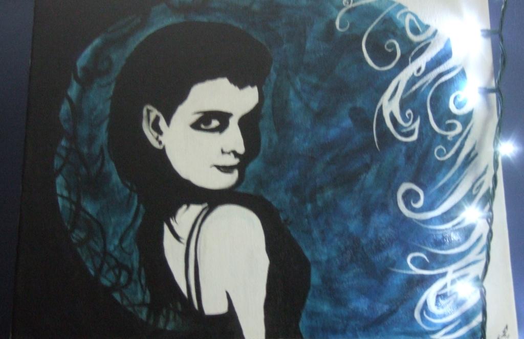 EVANESCENCE Amy Lee Hartzler Painting