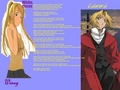 Edward X Winry  - full-metal-alchemist photo