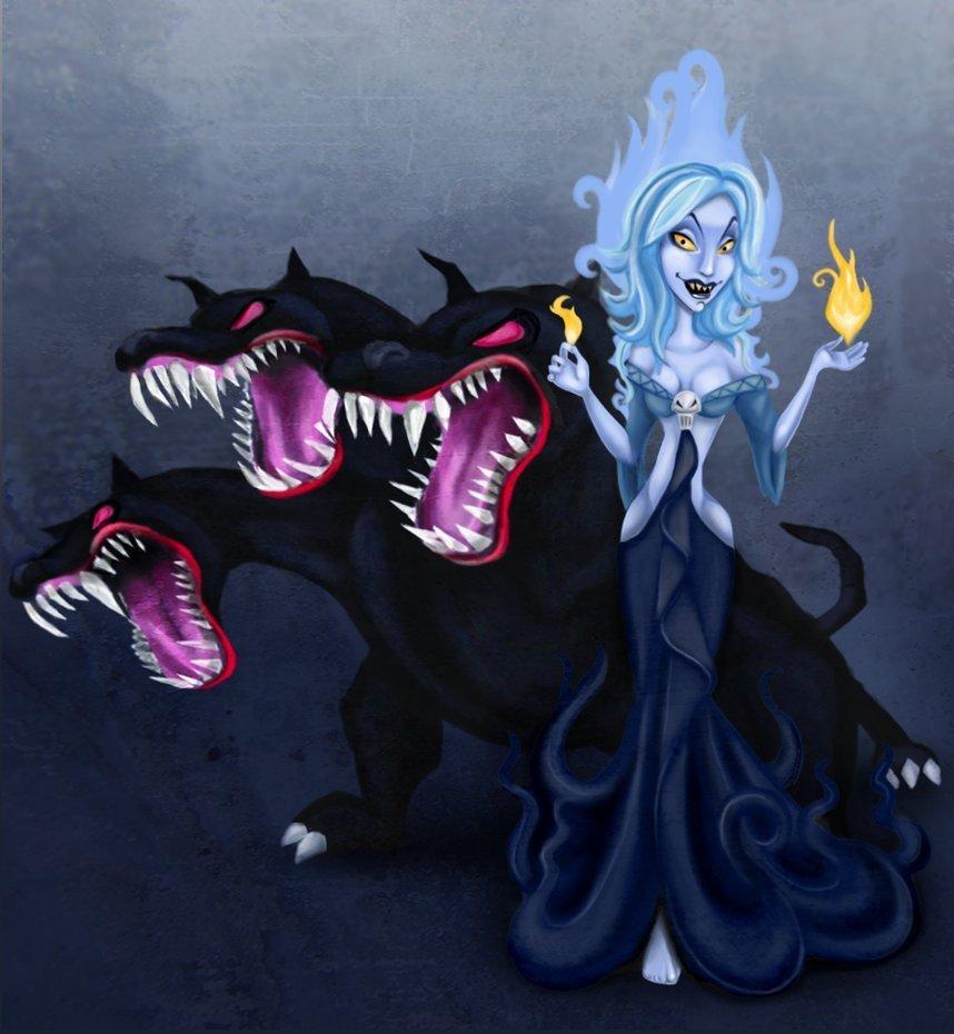 Evil looking Persephone