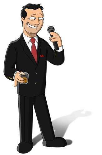 Seth MacFarlane wallpaper with a business suit and a well dressed person titled Family Guy: Seth MacFarlane