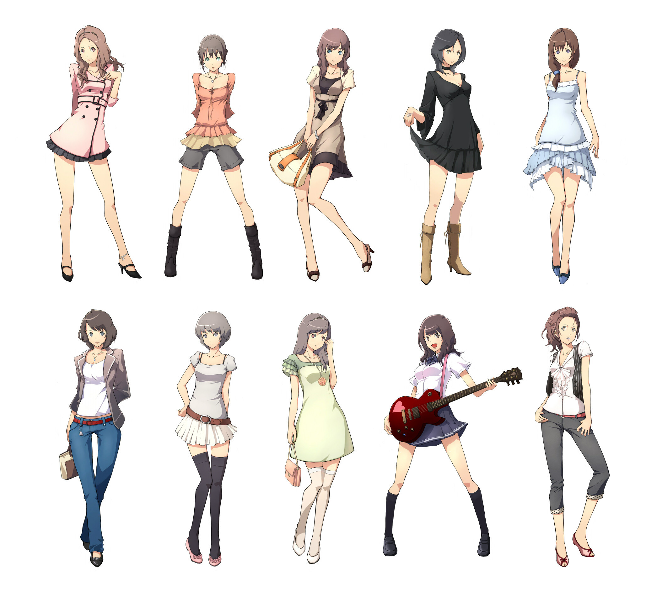 Fashion 10 Outfits Anime Photo 15739990 Fanpop