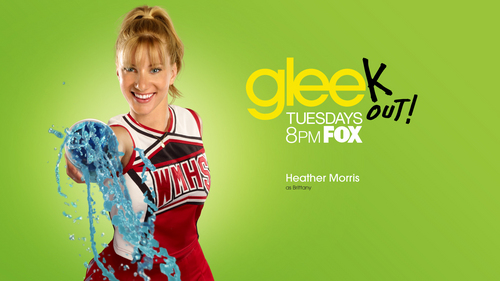 Glee wallpaper probably with a top, a sundress, and a nightwear called Brittany