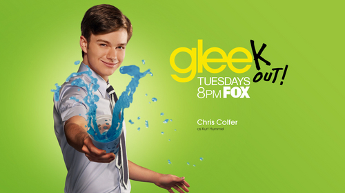 Glee wallpaper probably containing a portrait called Kurt Hummel