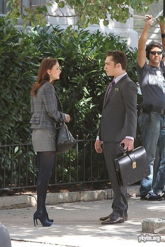 Gossip Girl: BTS 23rd September