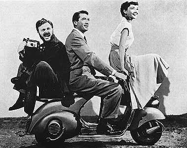 Gregory Peck & Audrey Hepburn in Vacanze Romane