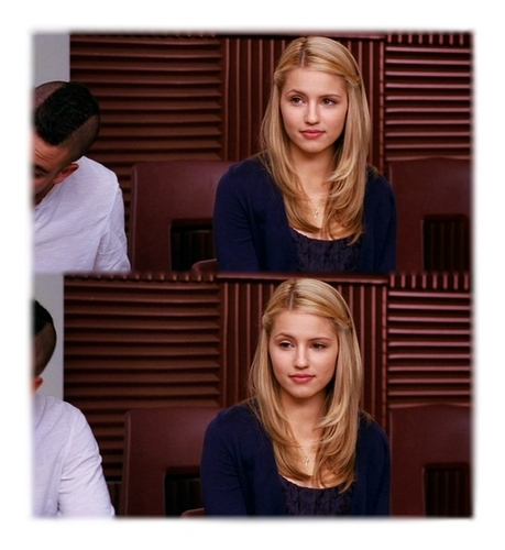Quinn Fabray দেওয়ালপত্র probably containing a portrait called HBIC