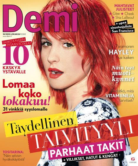 hayley williams cosmo magazine cover. hayley williams cosmopolitan.