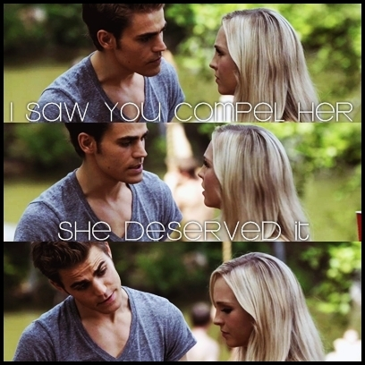 I saw you compel her!