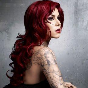 "Kat Von D wallpaper possibly containing attractiveness and a portrait titled Kat Von D ""Adora"""