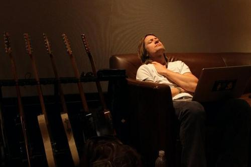 Keith Recording in the Studio Sept. 2010