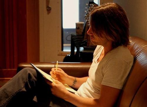 Keith in The Recording Studio, Sept. 2010