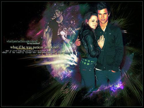 Kristen Stewart and Taylor Lautner