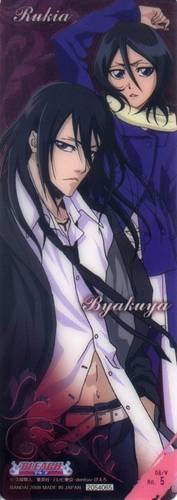 Kuchiki Byakuya and Kuchiki Rukia