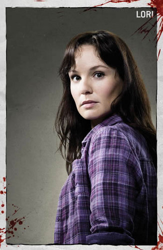 the walking dead wallpaper possibly containing a sign and a portrait called Lori Grimes
