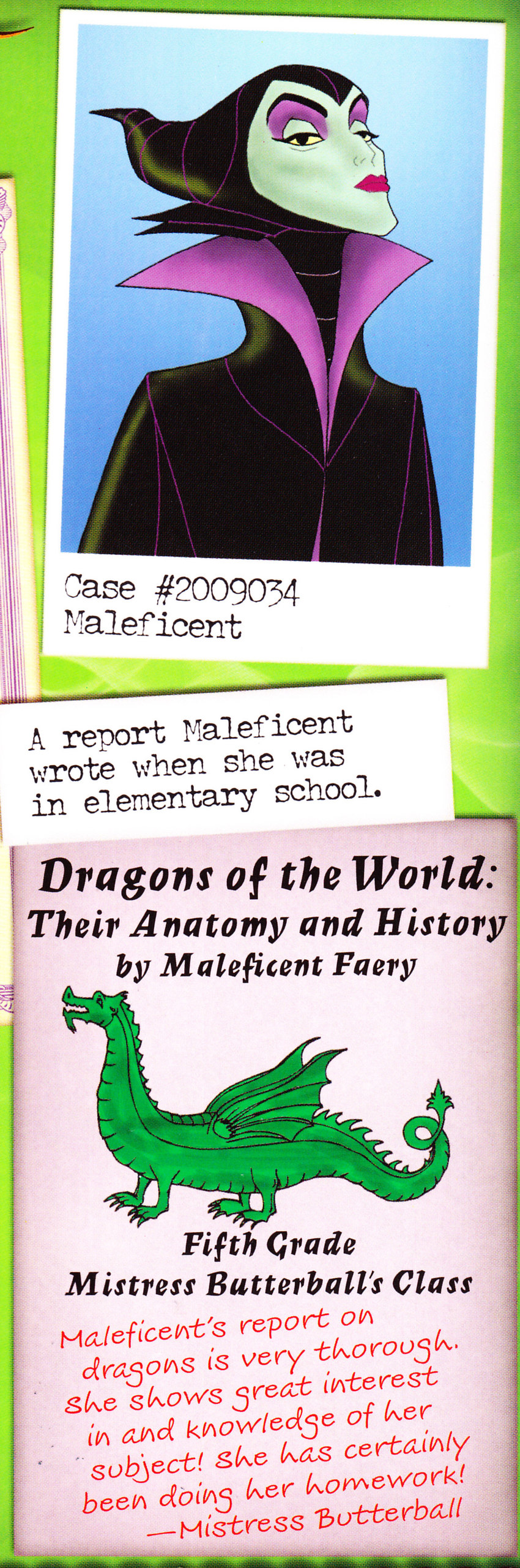 Maleficen't Elementary project