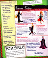 Maleficent's fashion book