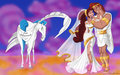 Megara and Hercules wedding